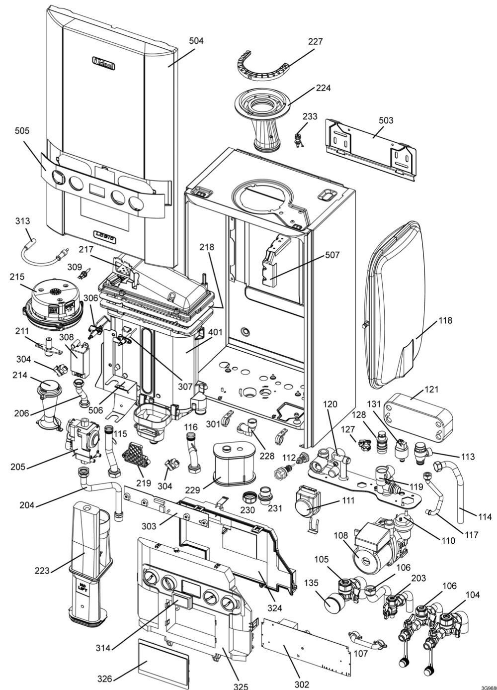 Logic Combi ESP24, ESP30, ESP35 - PHC PartsPHC Parts