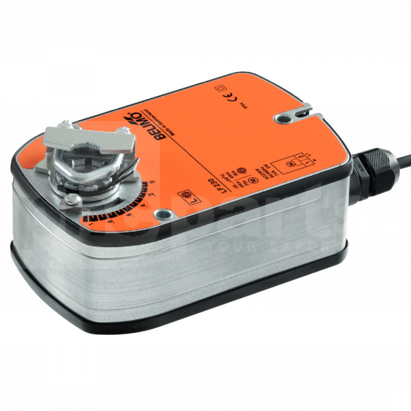 Actuator, Belimo LF230, 230v 2 Position Spring Return, 4nm